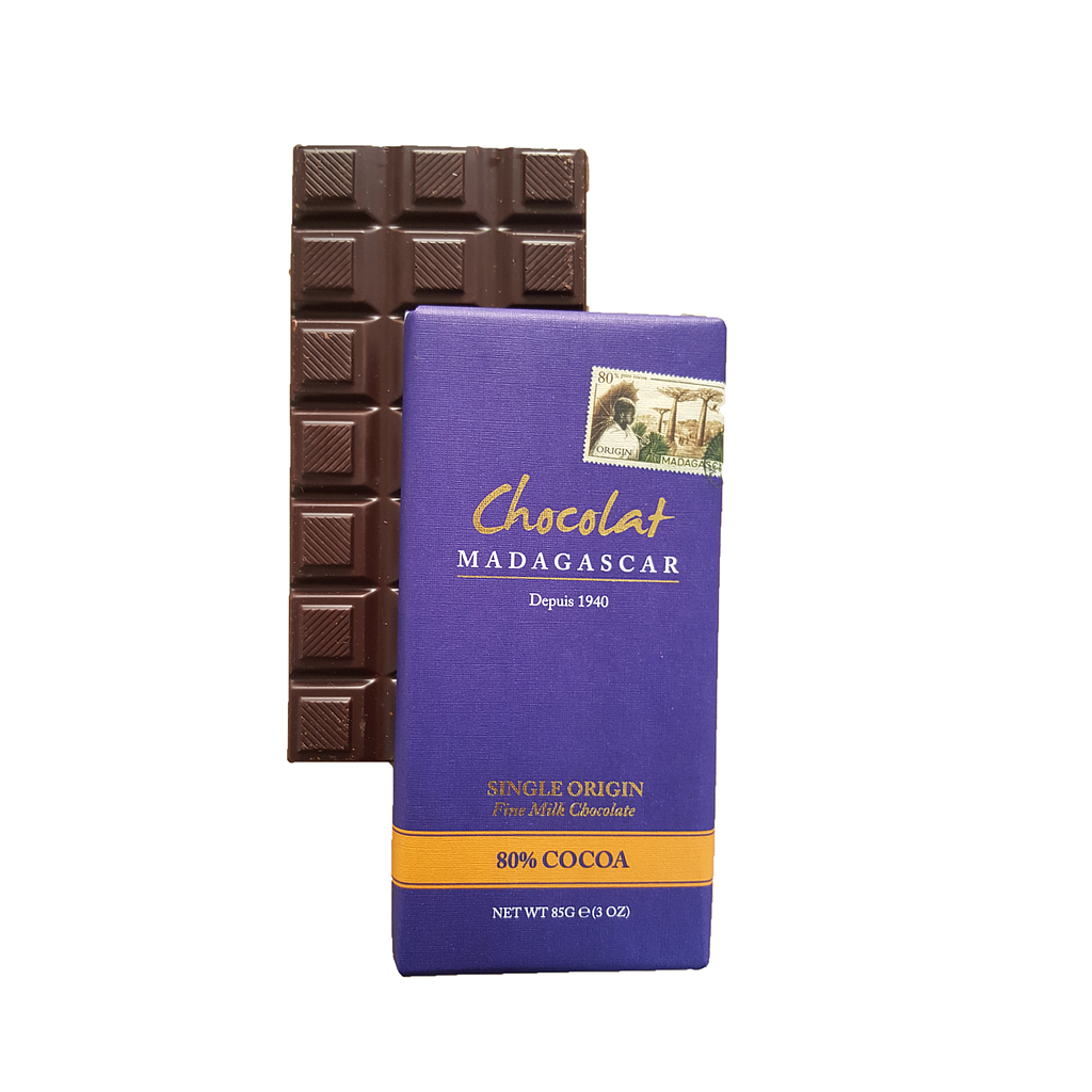 [TCM08] Tablette de chocolat au lait 80% cacao, le dark milk